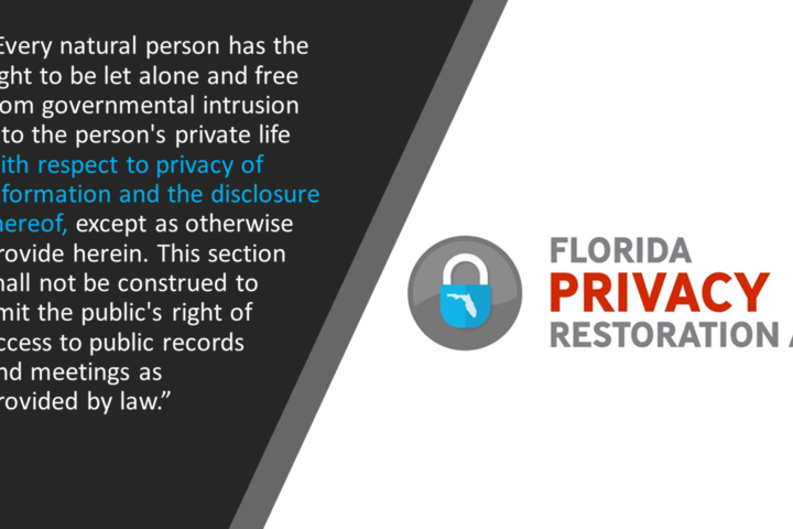 2017-18 Florida Constitution Revision Commission Proposal 22.PDF, FL Privacy, Florida Informational Privacy, Abortion, Florida Privacy Restoration Act, FLPRA, history privacy amendment florida
